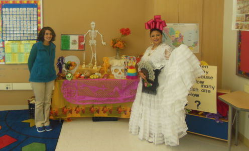 Tere Luna at Breakthrough Magnet School October 2014
